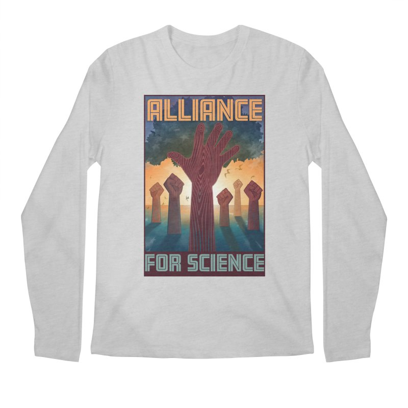 Alliance for Science Men's Longsleeve T-Shirt by Stacy Kendra | Artist Shop