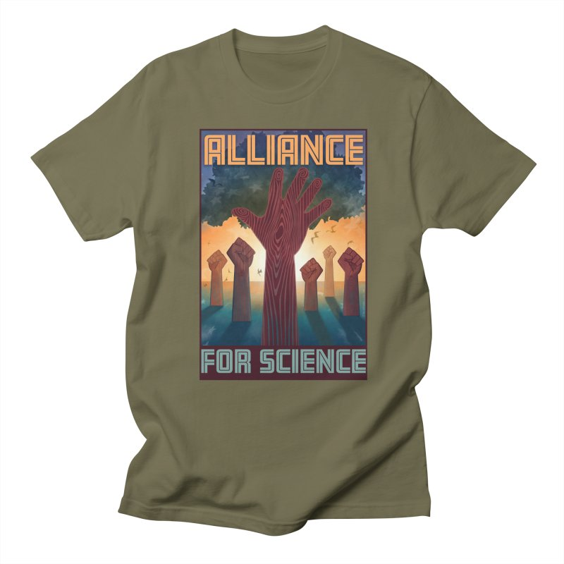 Alliance for Science Women's Unisex T-Shirt by Stacy Kendra   Artist Shop
