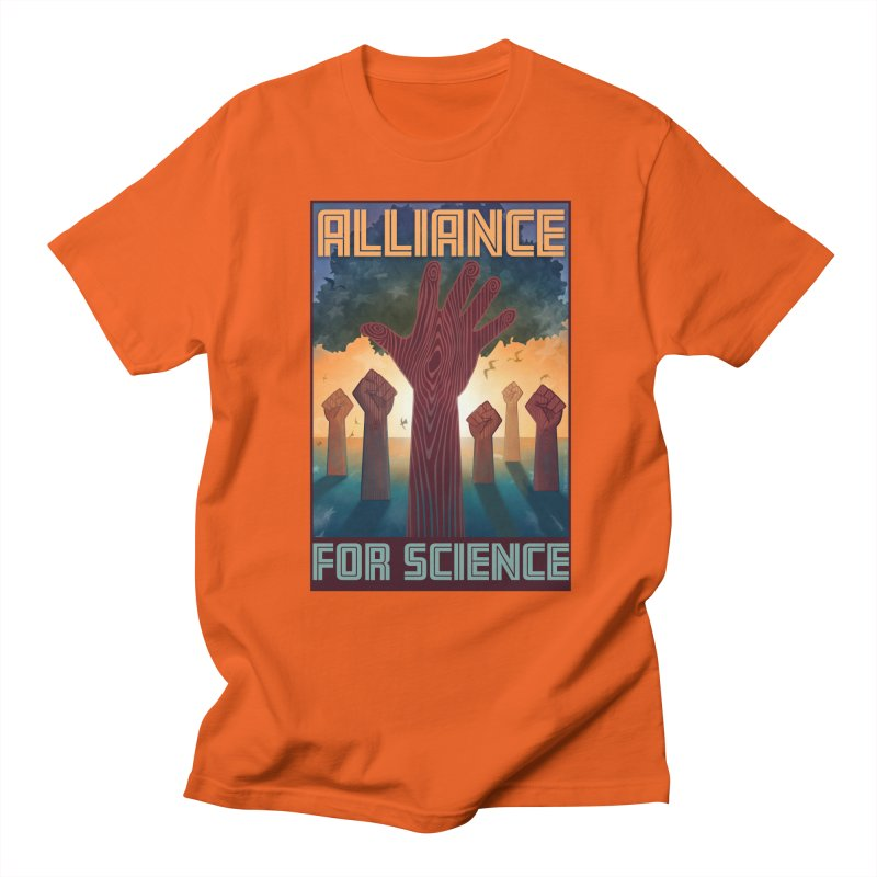 Alliance for Science Women's Unisex T-Shirt by Stacy Kendra | Artist Shop