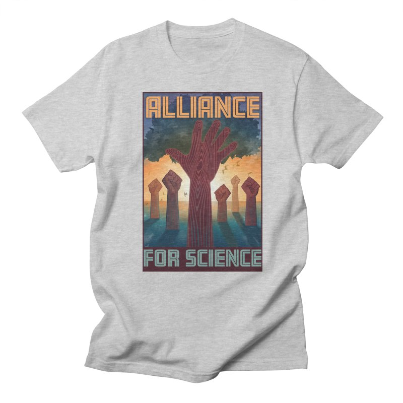 Alliance for Science Men's T-shirt by Stacy Kendra | Artist Shop