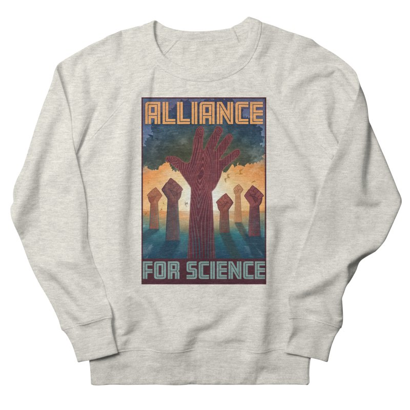 Alliance for Science Men's Sweatshirt by Stacy Kendra | Artist Shop