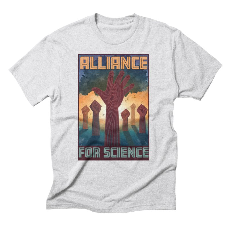 Alliance for Science Men's Triblend T-shirt by Stacy Kendra | Artist Shop