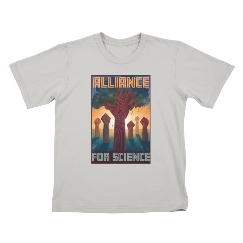 Alliance for Science Kids T-shirt by Stacy Kendra   Artist Shop