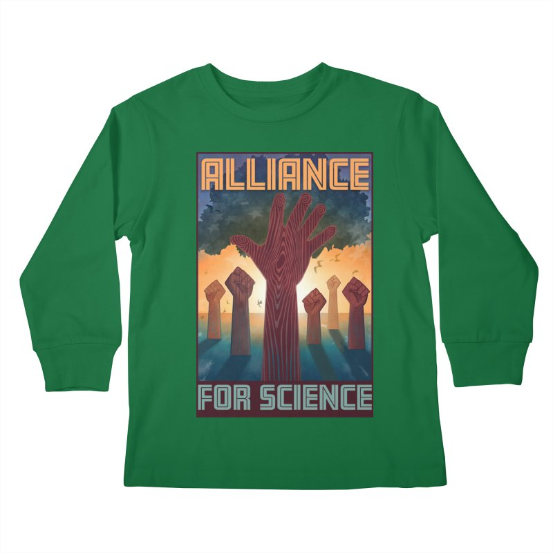 Alliance for Science Kids Longsleeve T-Shirt by Stacy Kendra | Artist Shop