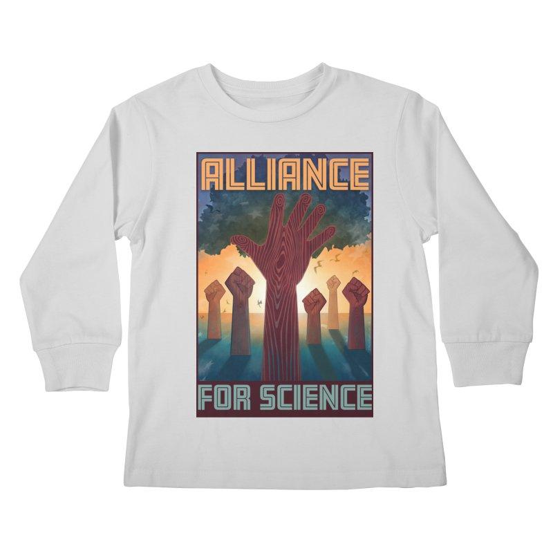 Alliance for Science Kids Longsleeve T-Shirt by Stacy Kendra | Artist Shop
