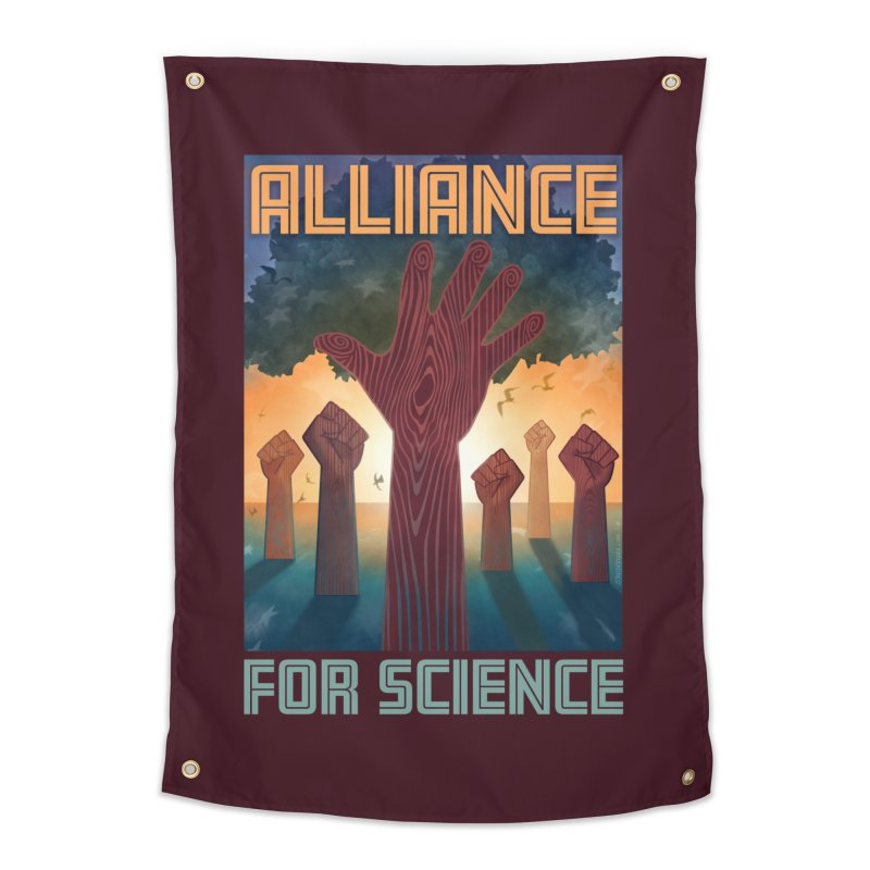 Alliance for Science Home Tapestry by Stacy Kendra | Artist Shop