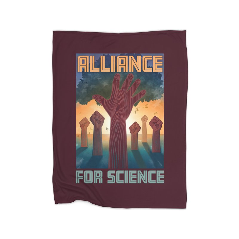 Alliance for Science Home Blanket by Stacy Kendra | Artist Shop