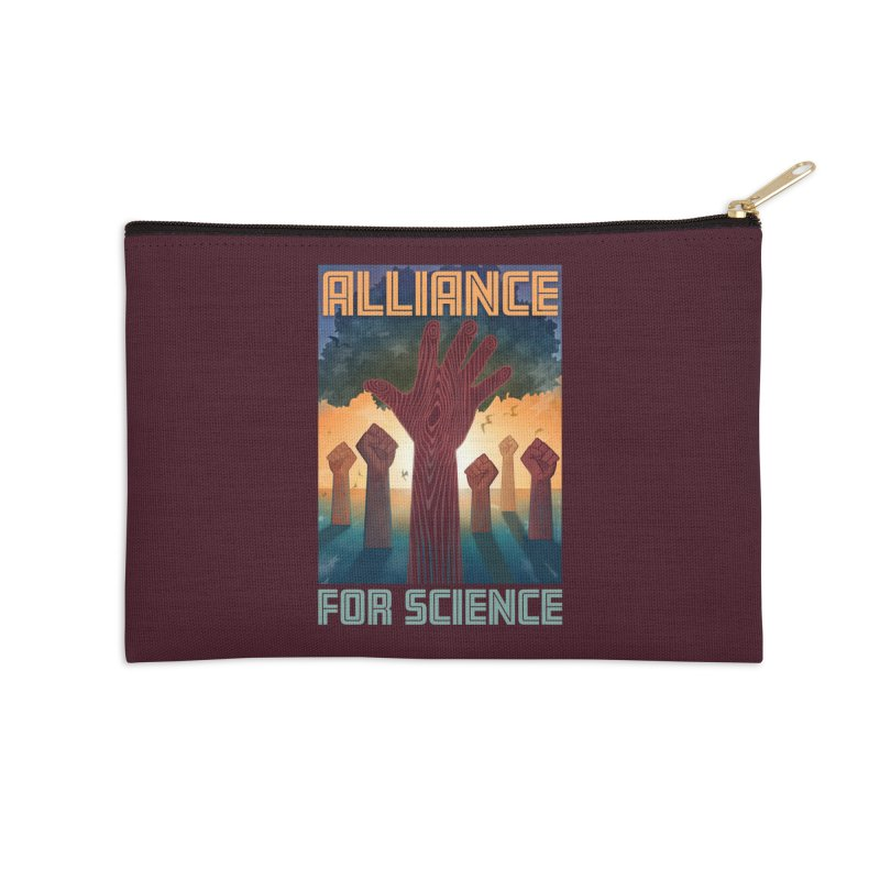 Alliance for Science Accessories Zip Pouch by Stacy Kendra | Artist Shop
