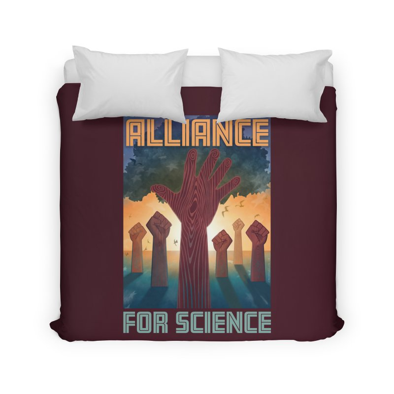Alliance for Science Home Duvet by Stacy Kendra | Artist Shop