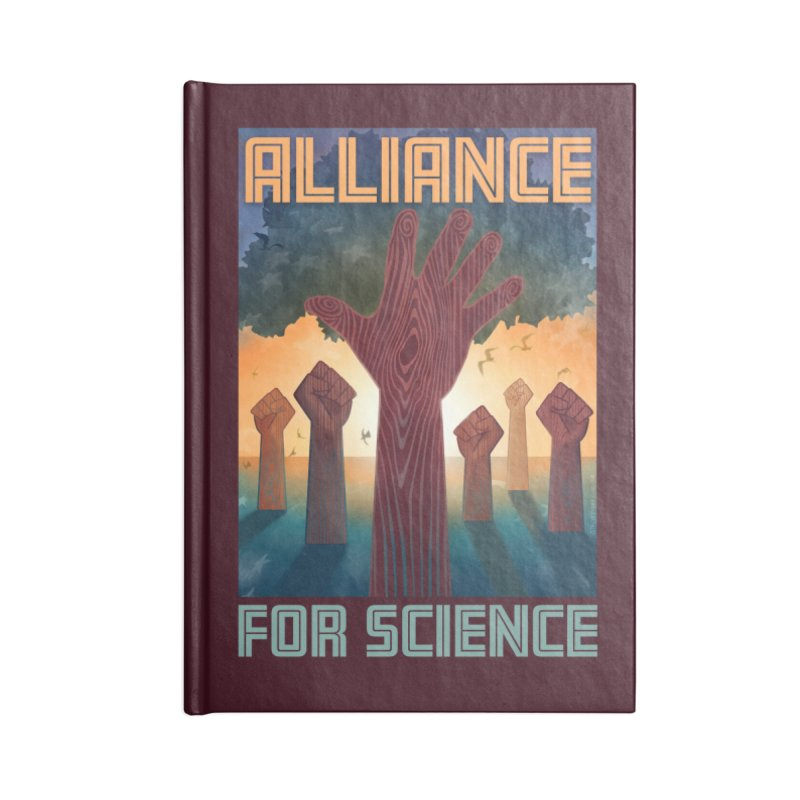 Alliance for Science Accessories Notebook by Stacy Kendra | Artist Shop