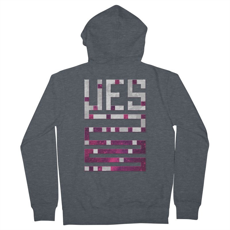 Yes/Lies Women's Zip-Up Hoody by Stacy Kendra | Artist Shop