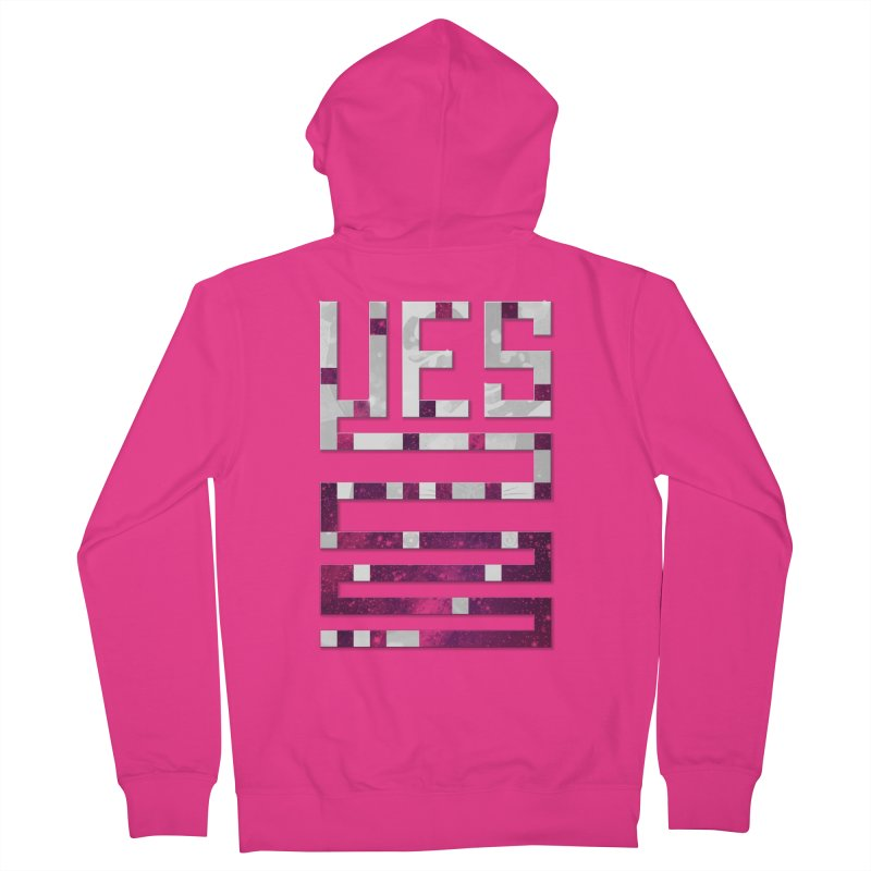 Yes/Lies Men's Zip-Up Hoody by Stacy Kendra | Artist Shop