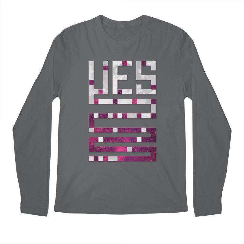 Yes/Lies Men's Longsleeve T-Shirt by Stacy Kendra | Artist Shop