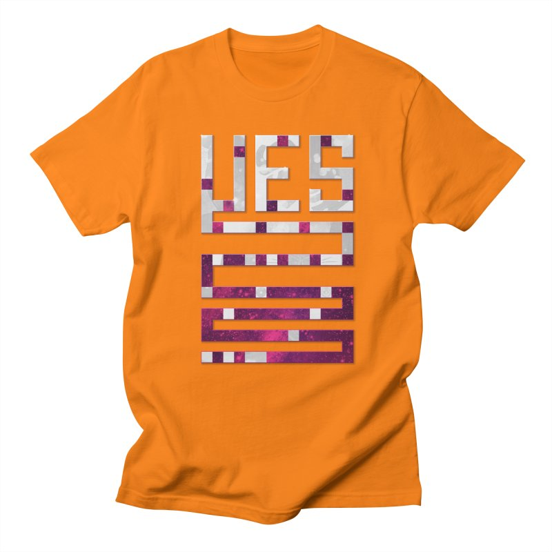 Yes/Lies Men's T-shirt by Stacy Kendra | Artist Shop