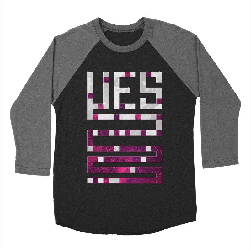 Yes/Lies Women's Baseball Triblend T-Shirt by Stacy Kendra | Artist Shop