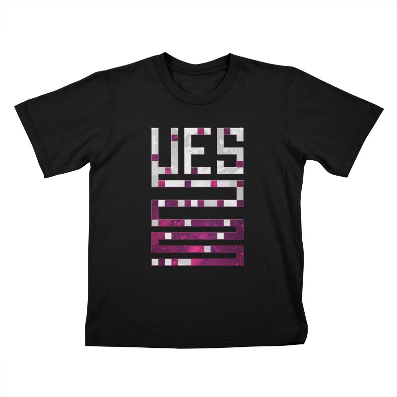Yes/Lies Kids T-Shirt by Stacy Kendra   Artist Shop
