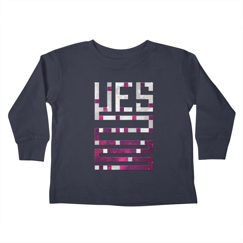 Yes/Lies Kids Toddler Longsleeve T-Shirt by Stacy Kendra | Artist Shop