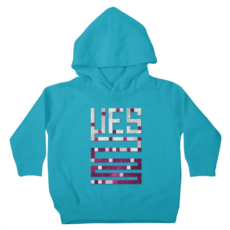 Yes/Lies Kids Toddler Pullover Hoody by Stacy Kendra | Artist Shop
