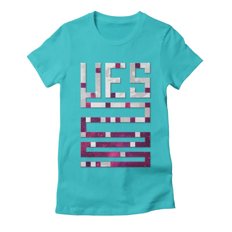 Yes/Lies Women's Fitted T-Shirt by Stacy Kendra | Artist Shop