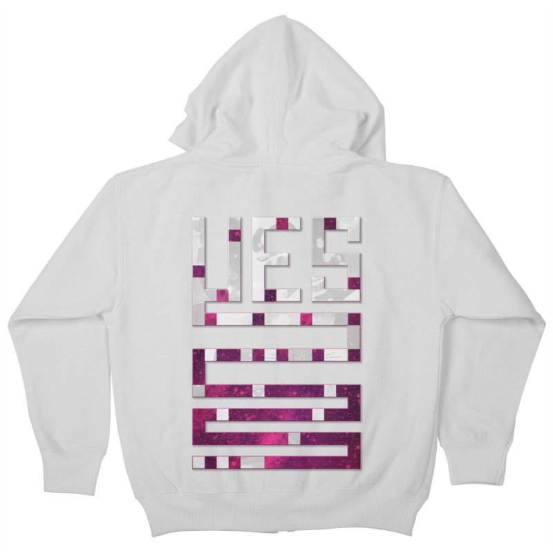Yes/Lies Kids Zip-Up Hoody by Stacy Kendra | Artist Shop