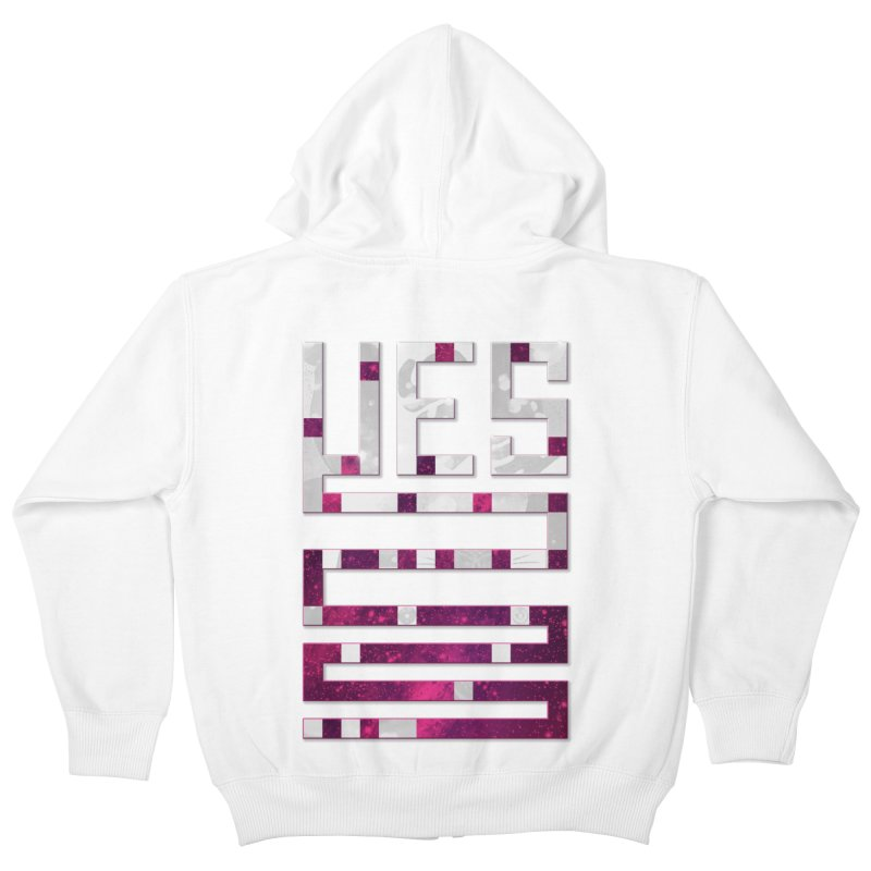 Yes/Lies Kids Zip-Up Hoody by Stacy Kendra   Artist Shop