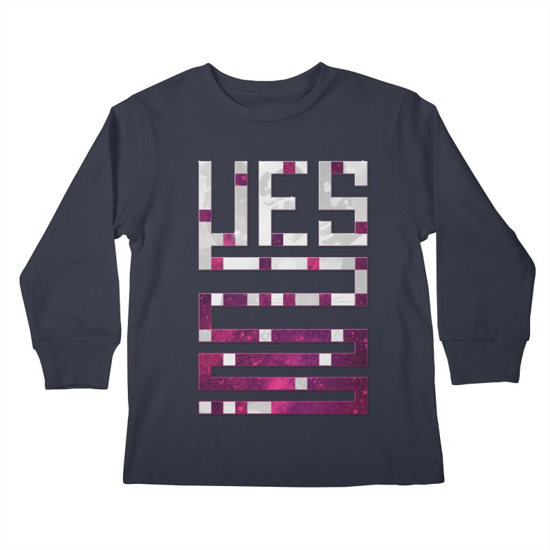 Yes/Lies Kids Longsleeve T-Shirt by Stacy Kendra | Artist Shop