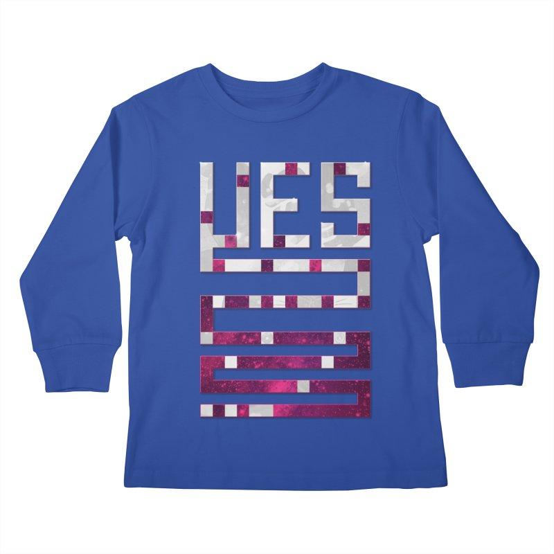 Yes/Lies Kids Longsleeve T-Shirt by Stacy Kendra | Artist Shop