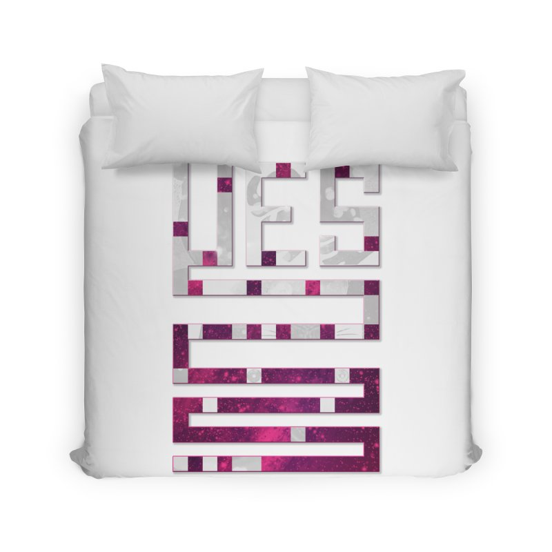 Yes/Lies Home Duvet by Stacy Kendra | Artist Shop