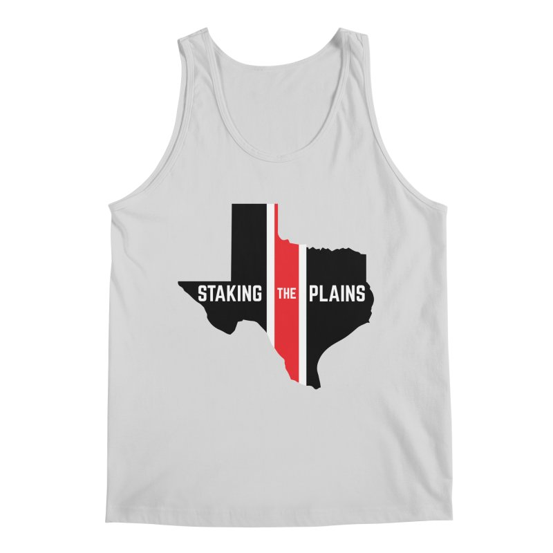 Staking The Plains Vertical Stripe State of Texas Men's Regular Tank by Staking The Plains