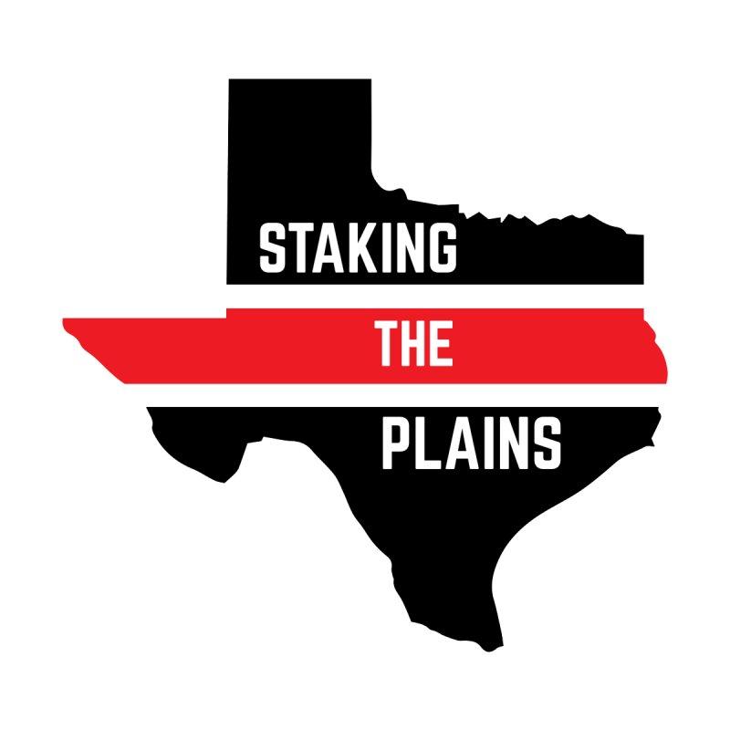 Staking The Plains Horizontal Stripe State of Texas by Staking The Plains