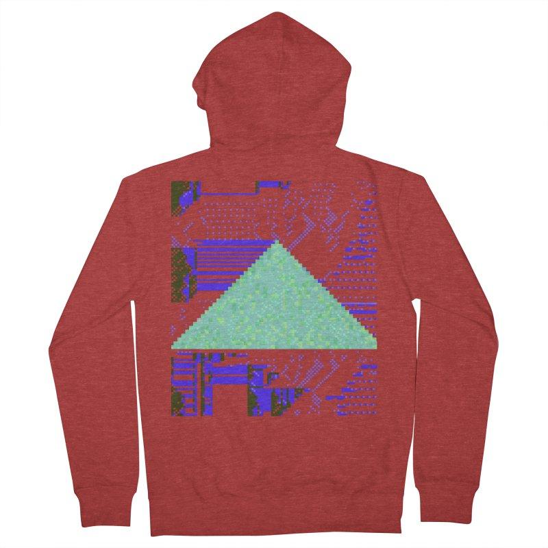 pyramid watch Women's Zip-Up Hoody by stallio's Artist Shop