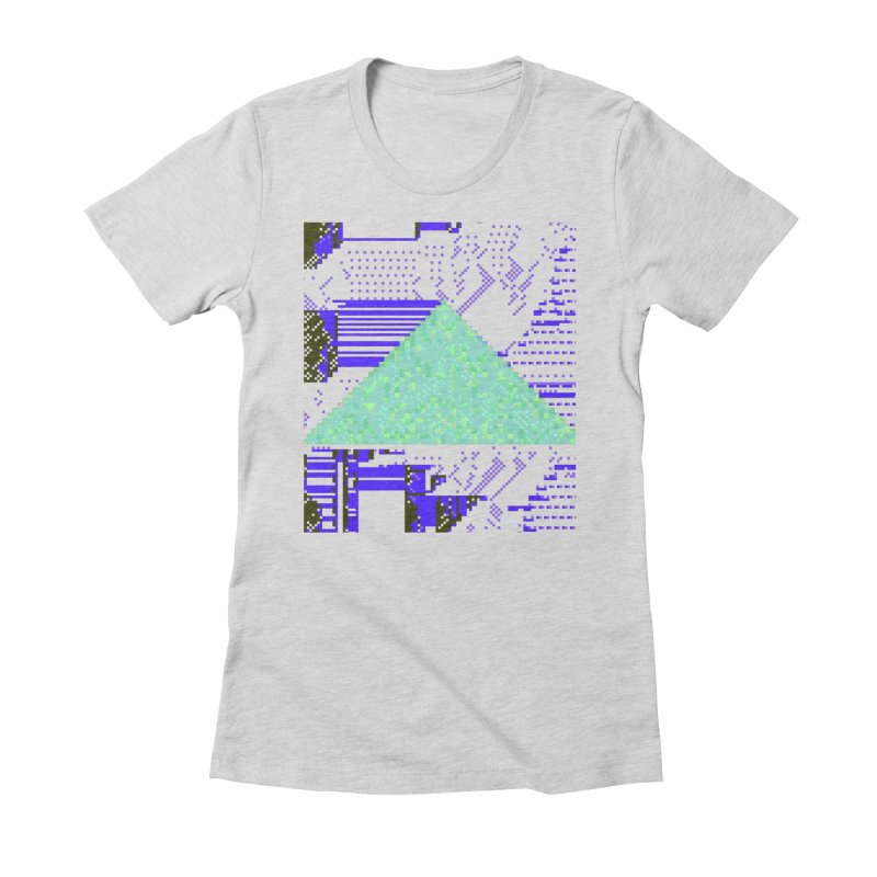 pyramid watch Women's Fitted T-Shirt by stallio's Artist Shop