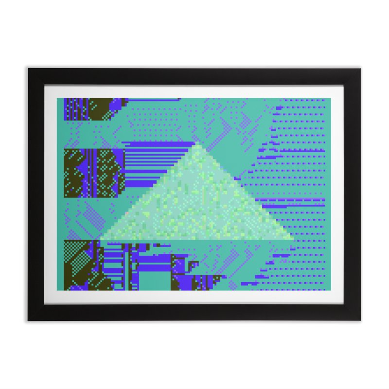 pyramid watch Home Framed Fine Art Print by stallio's Artist Shop