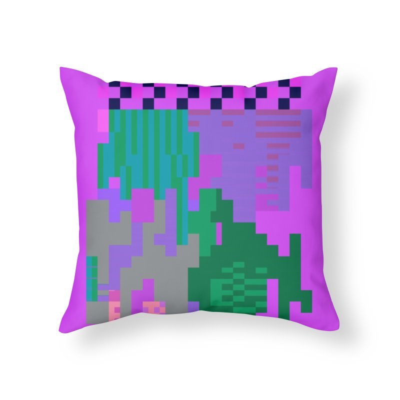 taint 13 Home Throw Pillow by stallio's Artist Shop