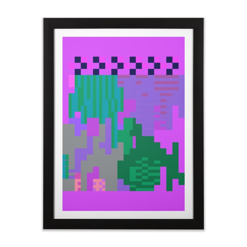 taint 13 Home Framed Fine Art Print by stallio's Artist Shop