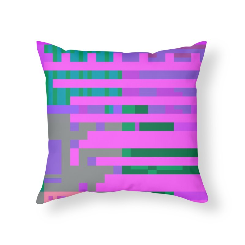 barred Home Throw Pillow by stallio's Artist Shop