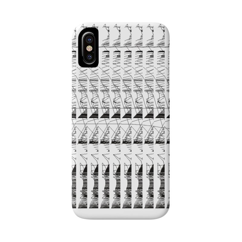 lasso glitch Accessories Phone Case by stallio's Artist Shop