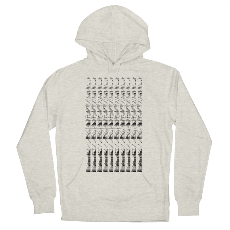 lasso glitch Men's Pullover Hoody by stallio's Artist Shop
