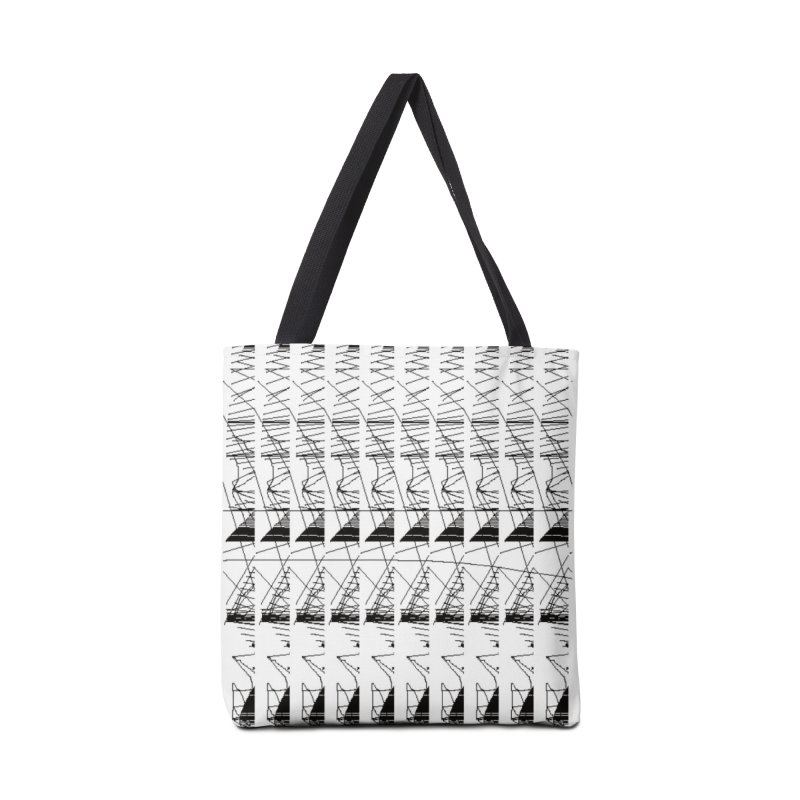 lasso glitch Accessories Bag by stallio's Artist Shop