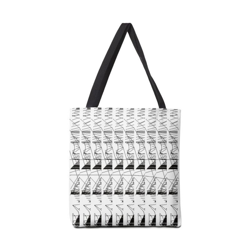 lasso glitch Accessories Bag by stallio's Artist Shop