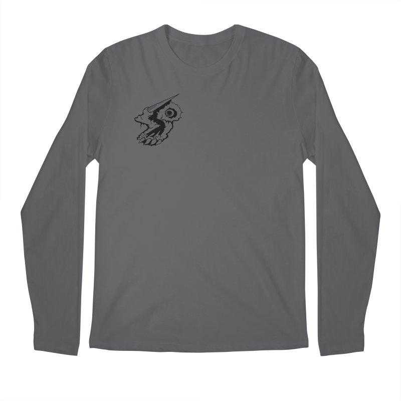 Stampedepress Boney Horn Men's Regular Longsleeve T-Shirt by stampedepress's Artist Shop
