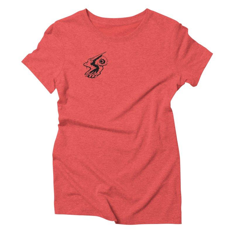 Stampedepress Boney Horn Women's Triblend T-Shirt by stampedepress's Artist Shop