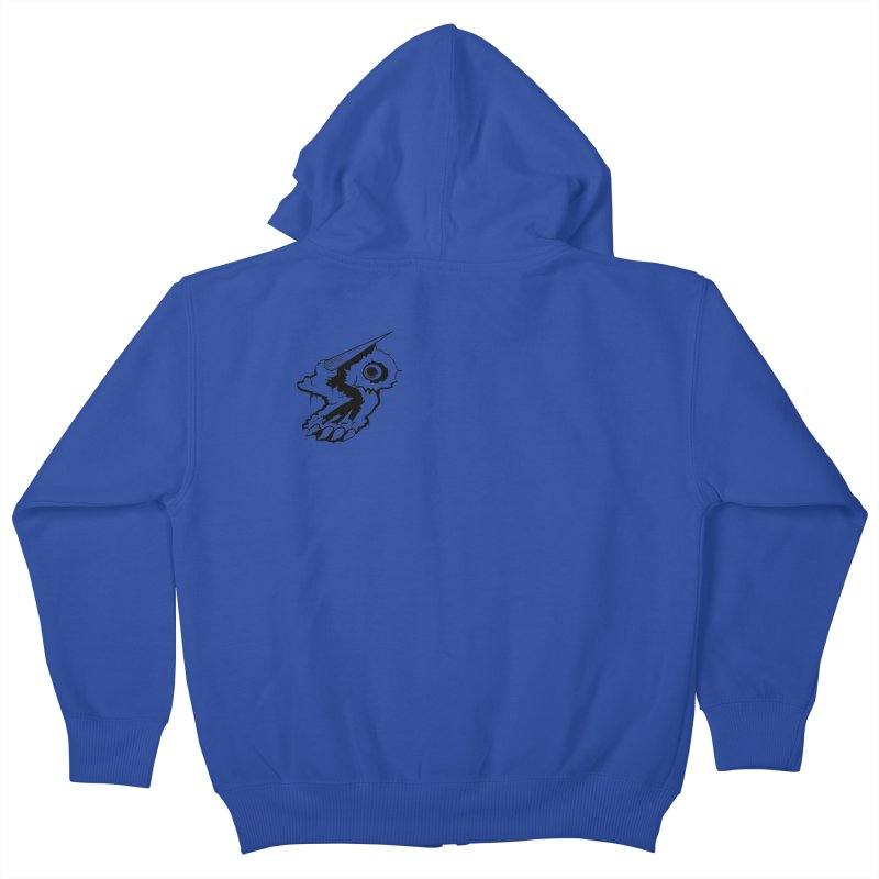Stampedepress Boney Horn Kids Zip-Up Hoody by stampedepress's Artist Shop