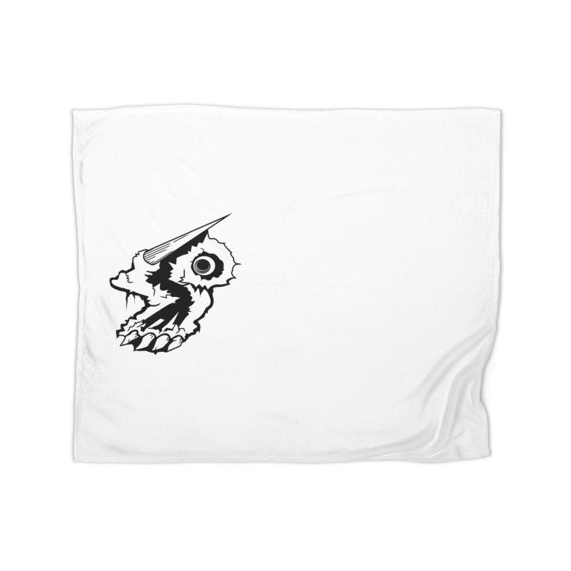 Stampedepress Boney Horn Home Blanket by stampedepress's Artist Shop