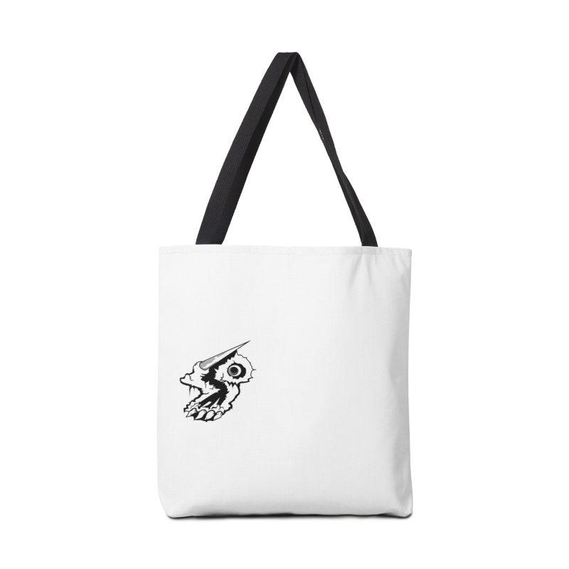 Stampedepress Boney Horn Accessories Bag by stampedepress's Artist Shop