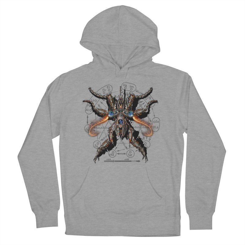 Mech Mosquito Pentagram of Evil Data Women's Pullover Hoody by stampedepress's Artist Shop