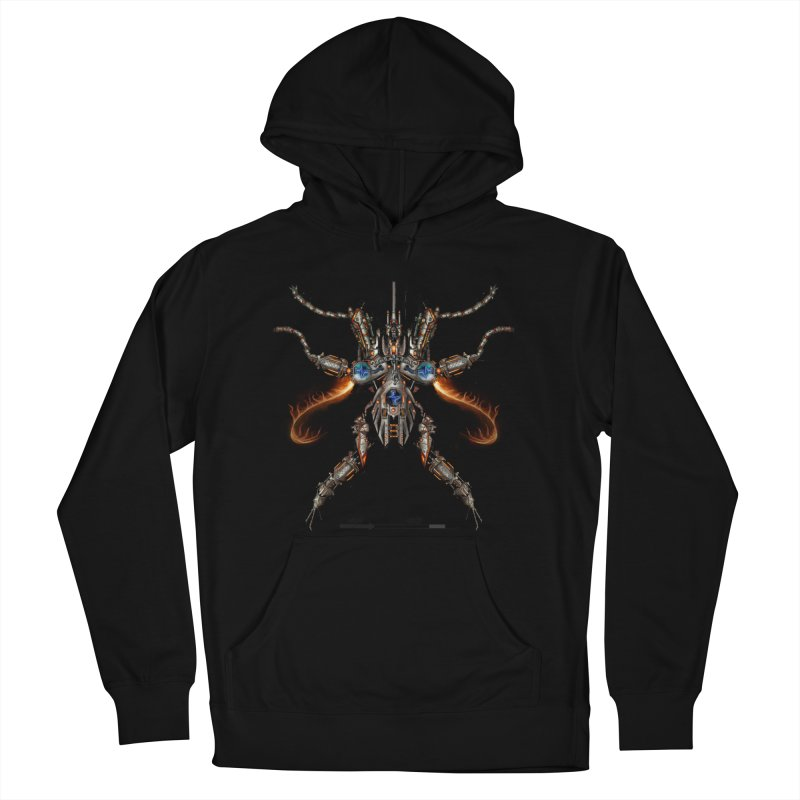 Mech Mosquito Pentagram of Evil Data Men's Pullover Hoody by stampedepress's Artist Shop