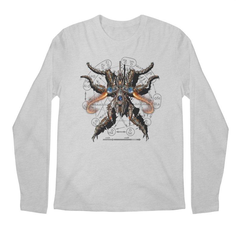 Mech Mosquito Pentagram of Evil Data Men's Longsleeve T-Shirt by stampedepress's Artist Shop