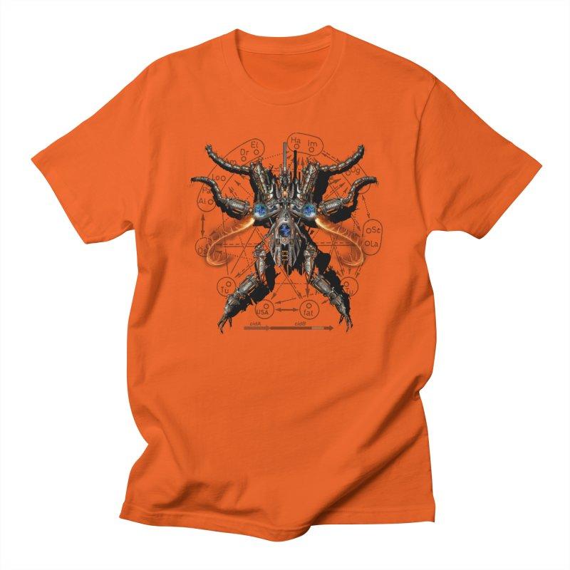 Mech Mosquito Pentagram of Evil Data Men's Regular T-Shirt by stampedepress's Artist Shop