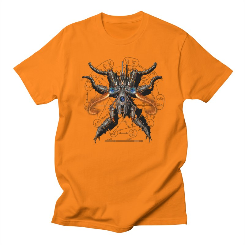 Mech Mosquito Pentagram of Evil Data Women's Unisex T-Shirt by stampedepress's Artist Shop
